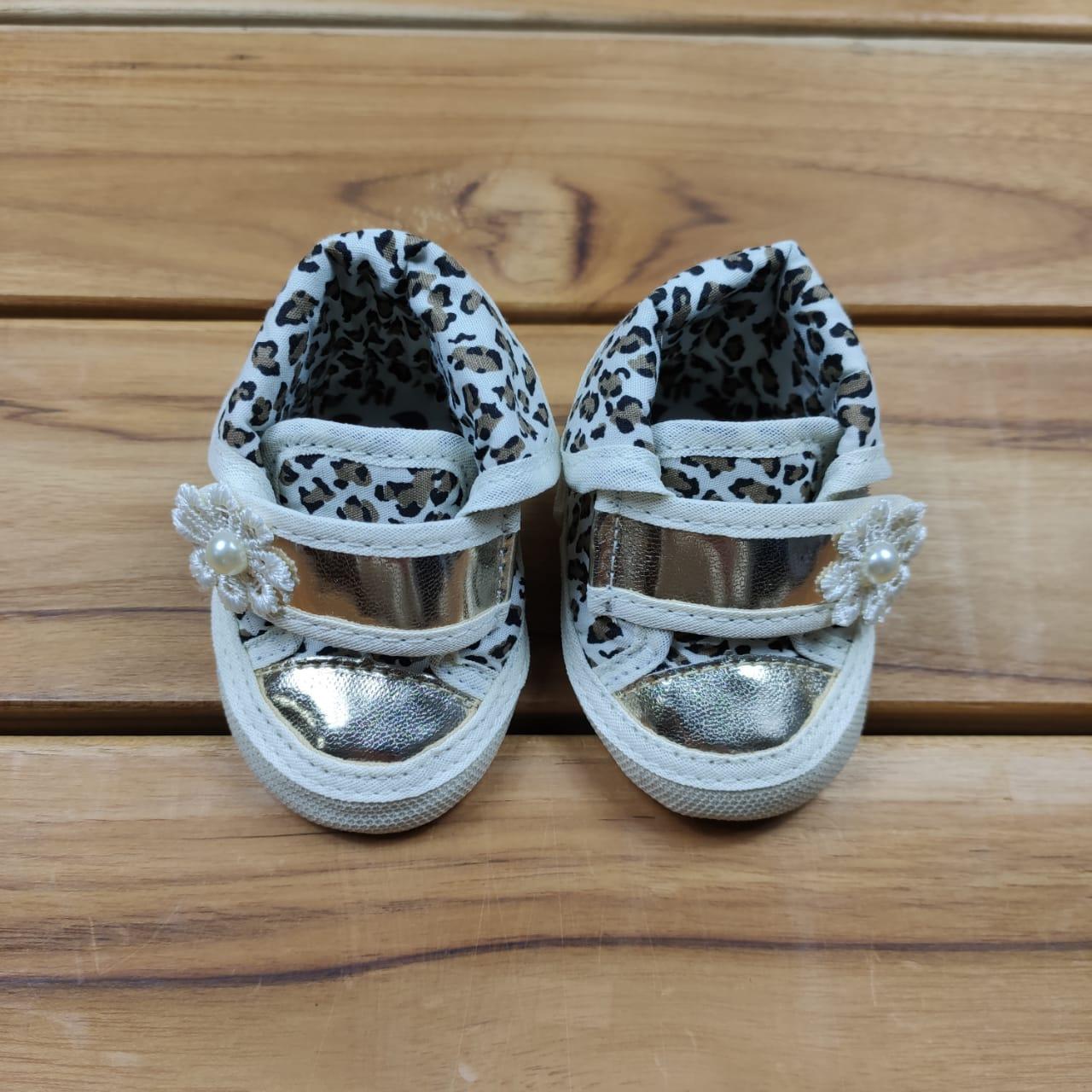 Tênis de Bebê Oncinha com Velcro