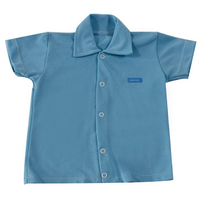 Camisa  Baby Azul