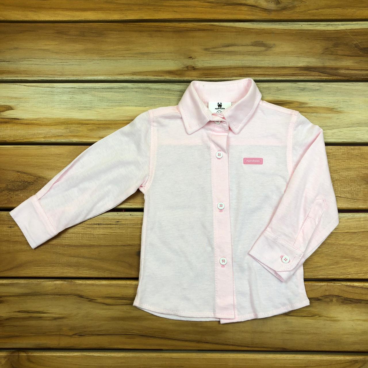 Camisa Bebê Rosa