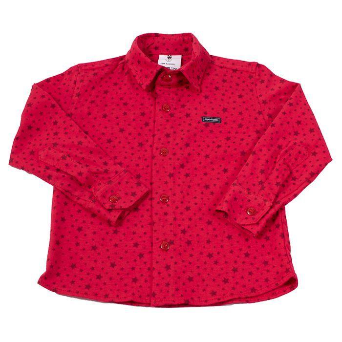 Camisa Longa Vermelha