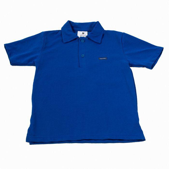 Camisa Polo Kids Azul