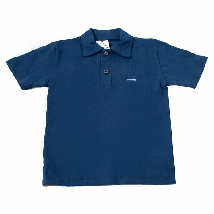 Camisa Polo Kids Azul