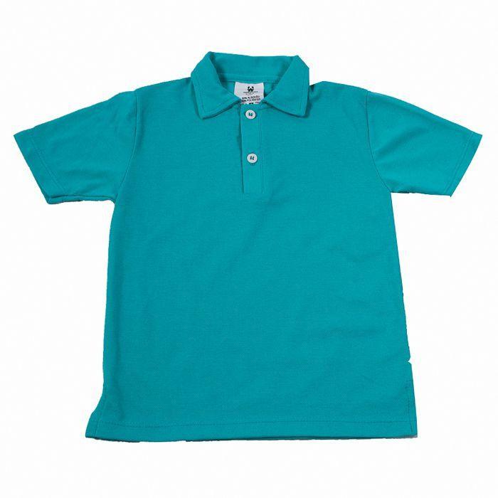 Camisa Polo Infantill Verde
