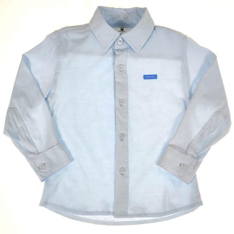 Camisa Social Infantil Azul