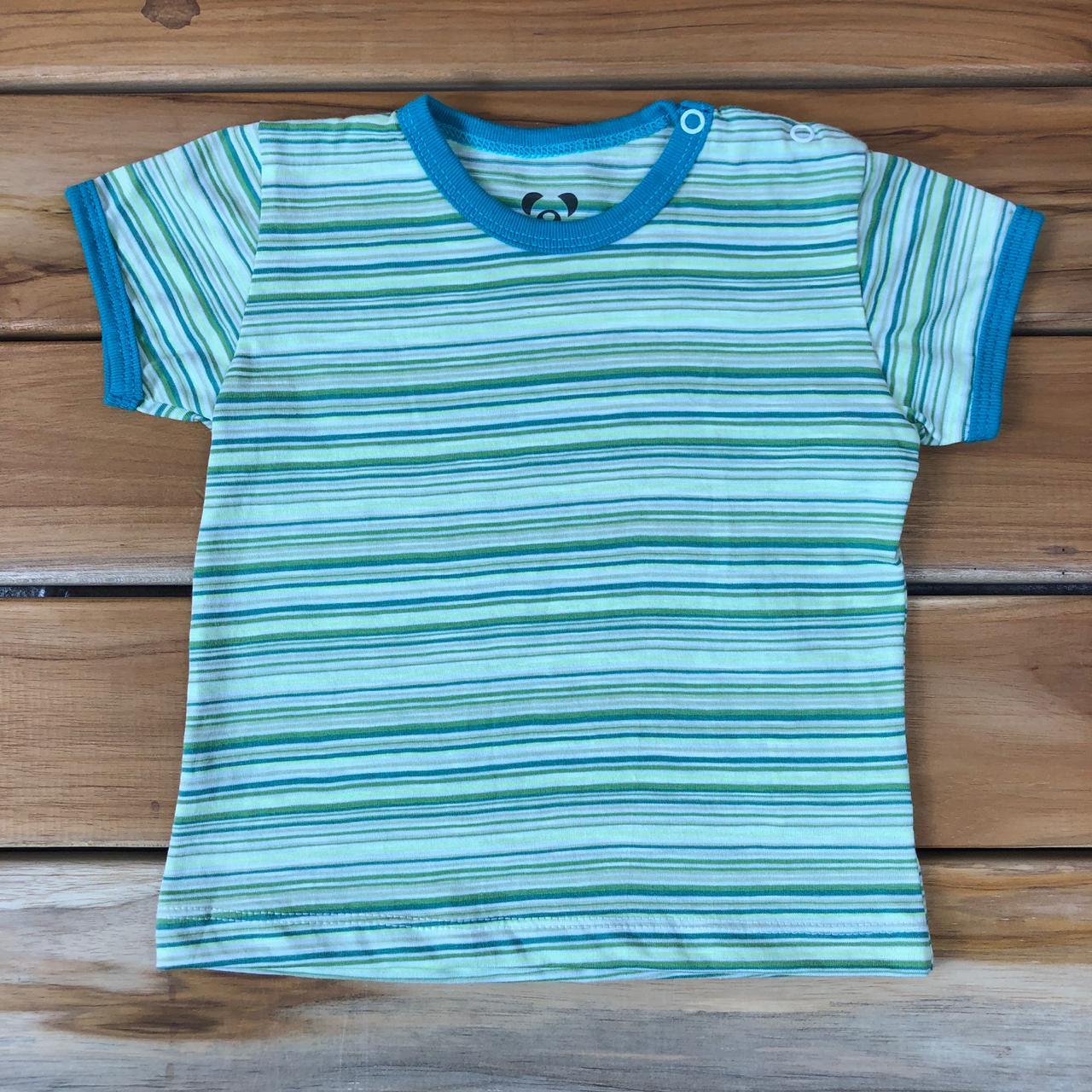Camiseta Curta Bebê Verde