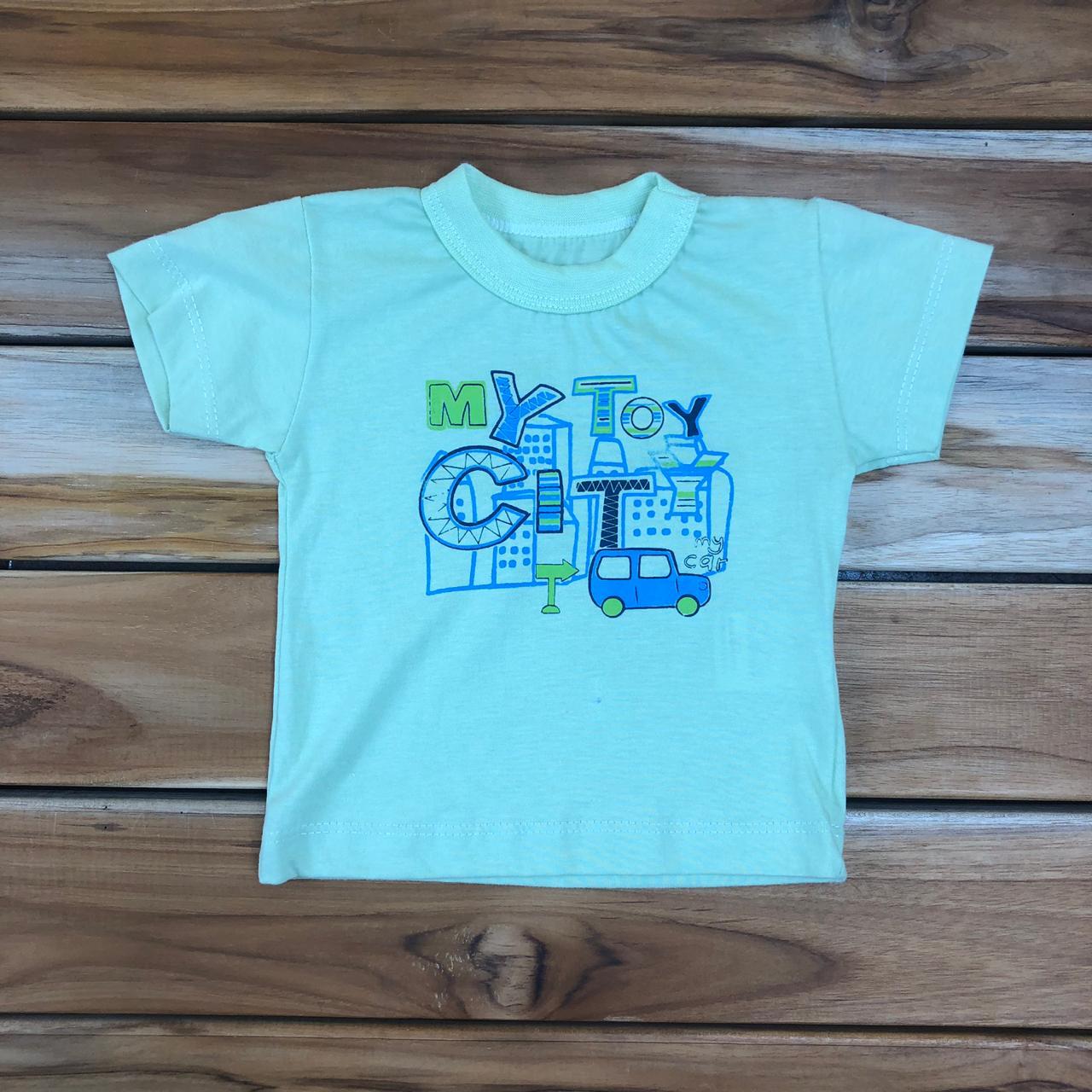 Camiseta Curta Verde