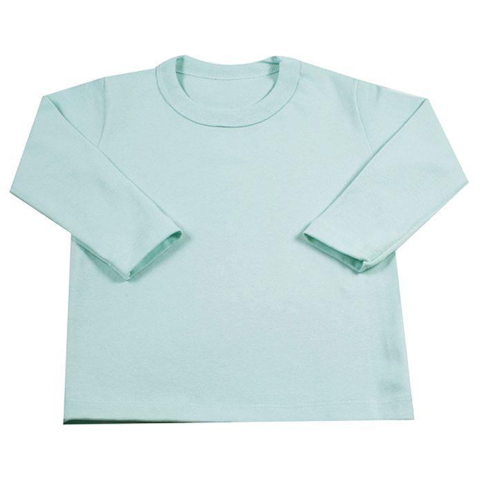 Camiseta Longa Infantil Verde