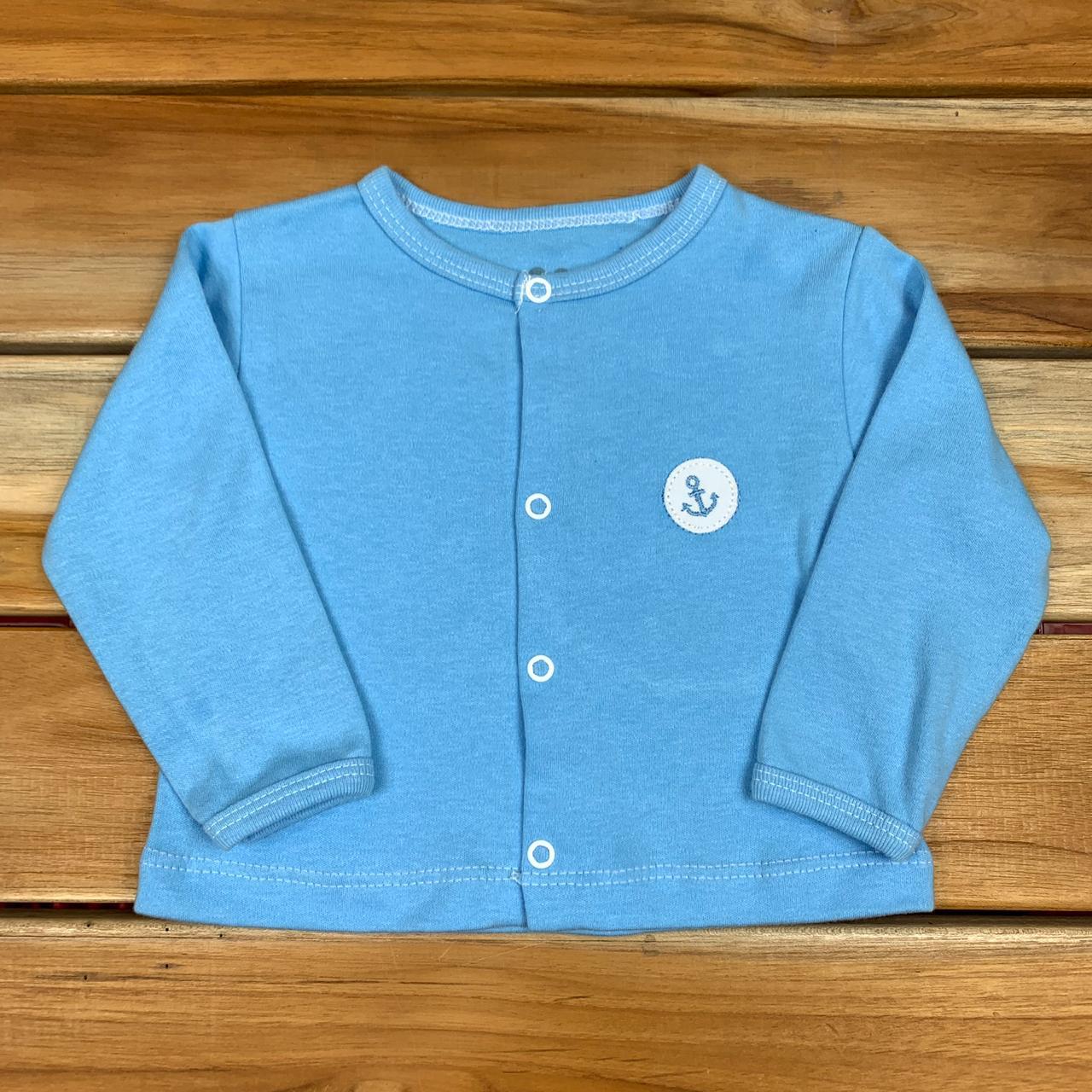 Casaco Bebê Azul