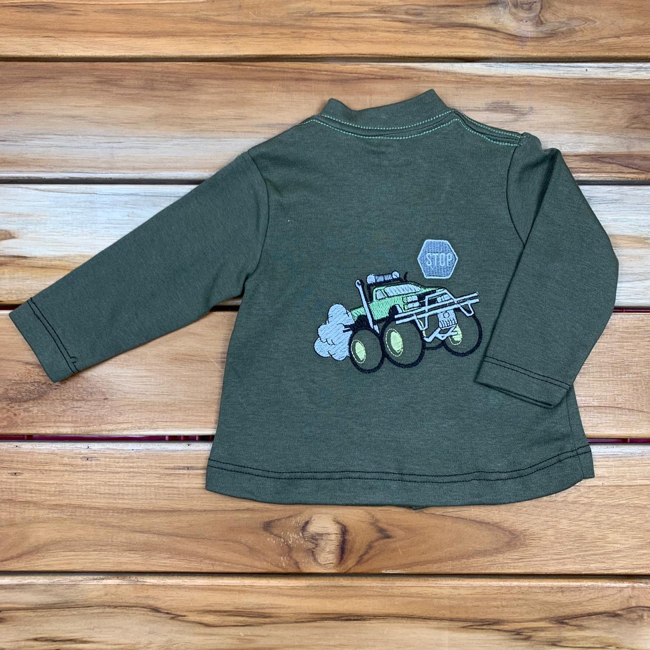 Casaco Bebê Verde