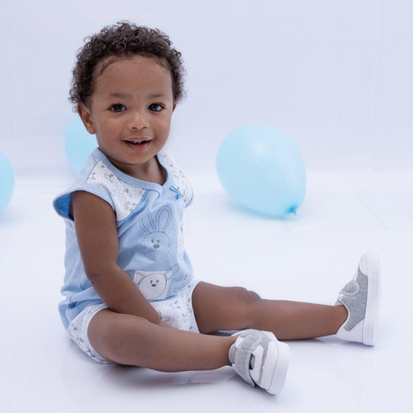 Conjunto bebê Branco