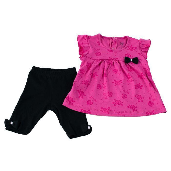 Conjunto Curto Kids Pink
