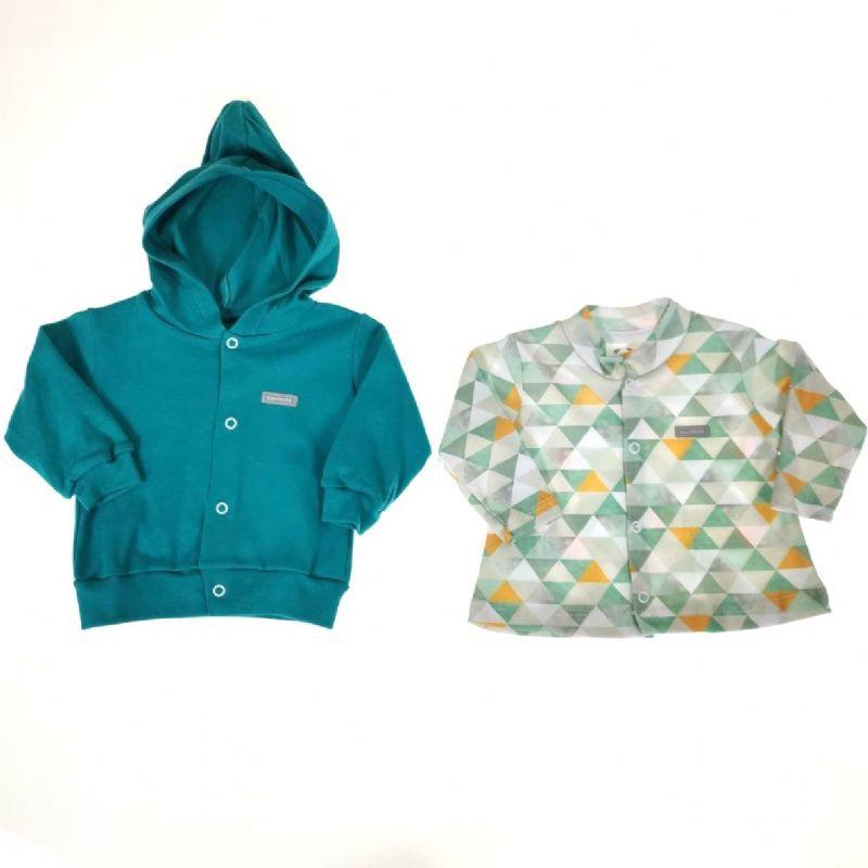 Conjunto Dois Casacos Verde