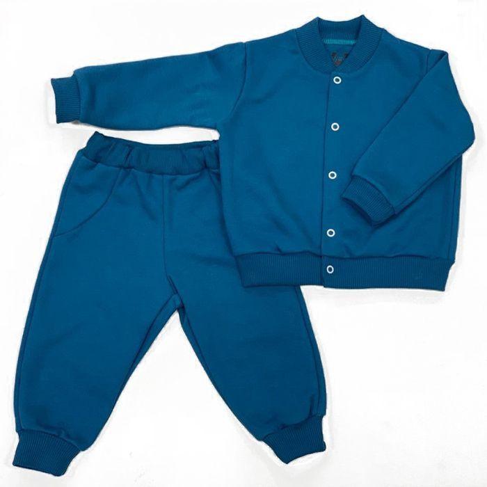Conjunto Moletom Bebê Azul