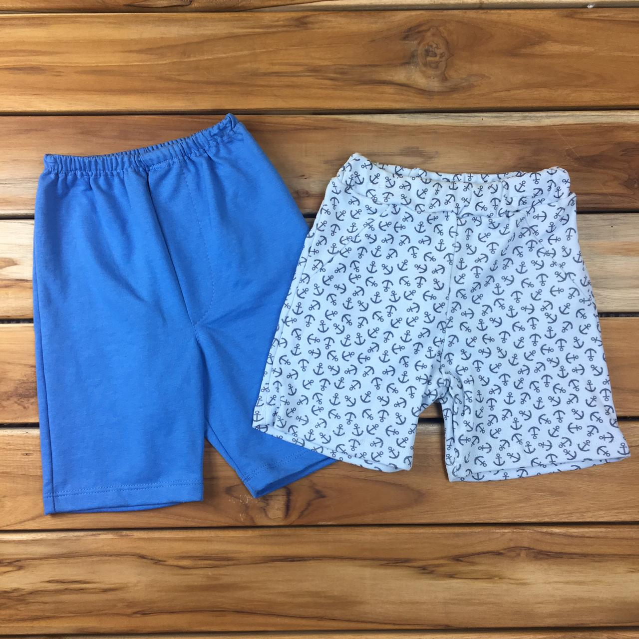 Kit 2 Shorts Infantill