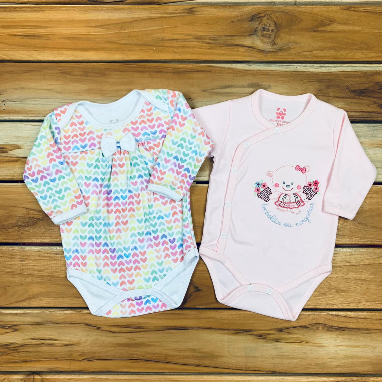 Kit bebê Body 2 Peças