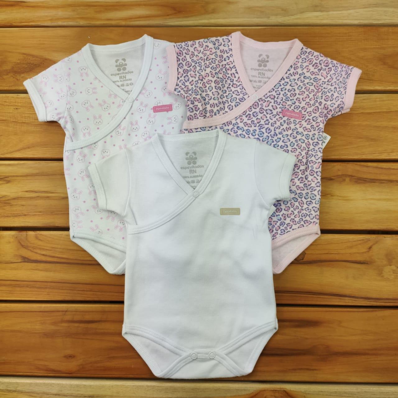 Kit Bebê 3 Peças Body