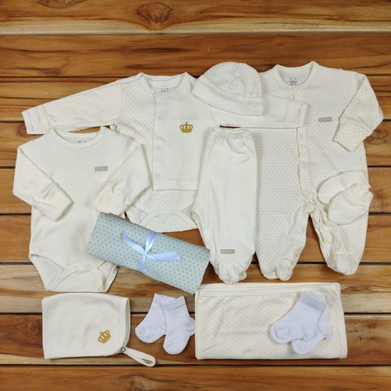 Kit Maternidade Cru - 12 Peças