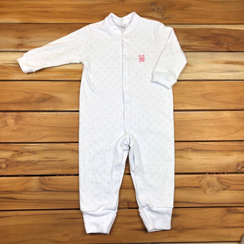 Macacão Longo bebê Branco
