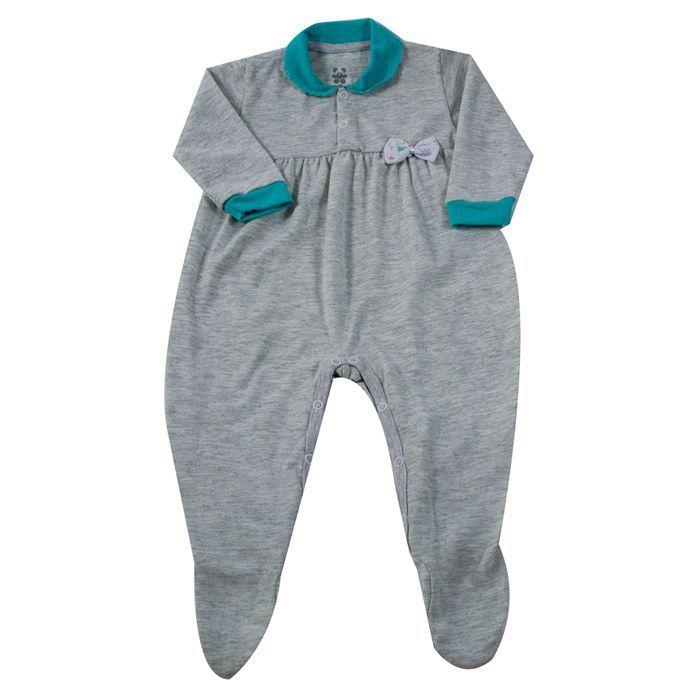 Macacão Longo Baby Mescla