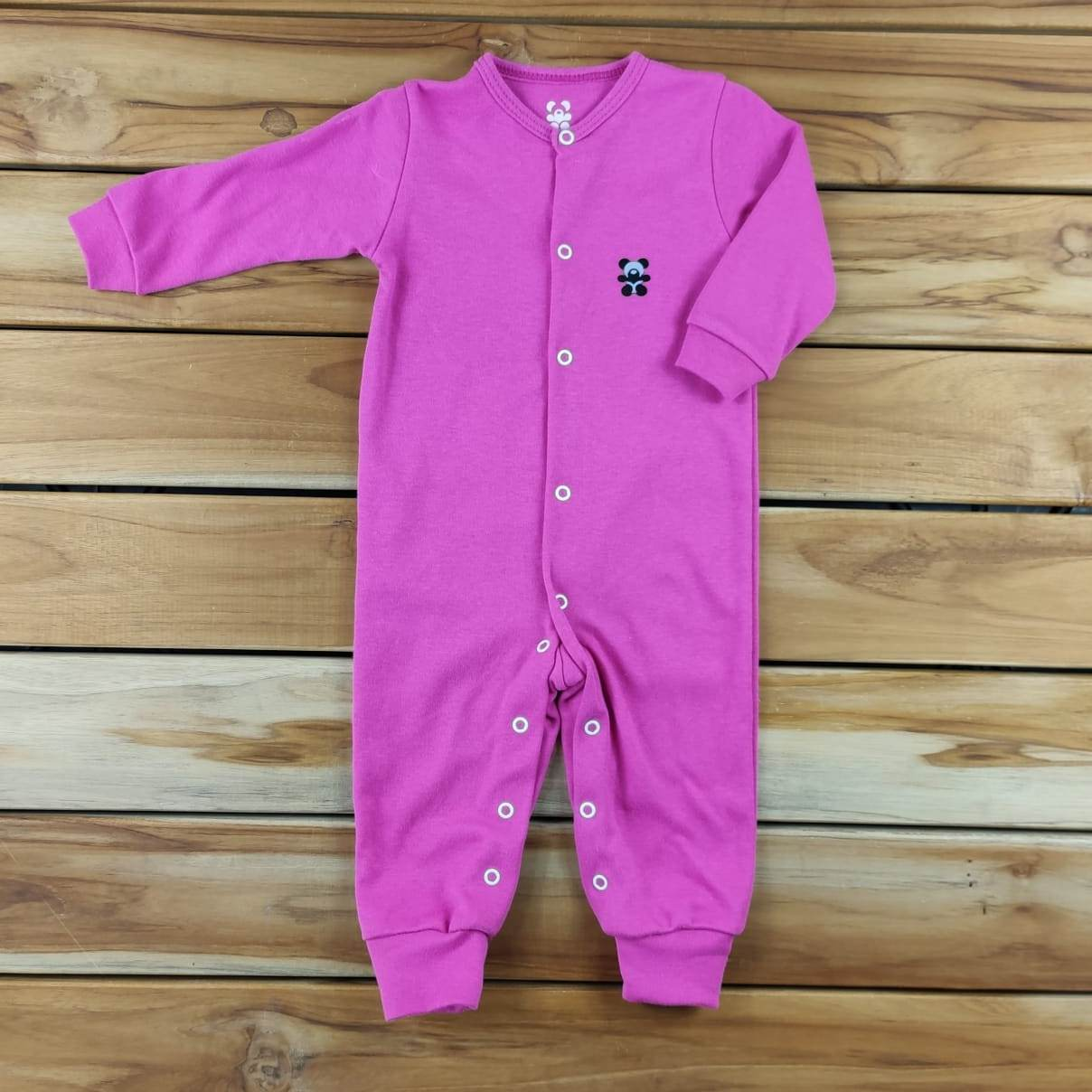 Macacão Longo Bebê Pink