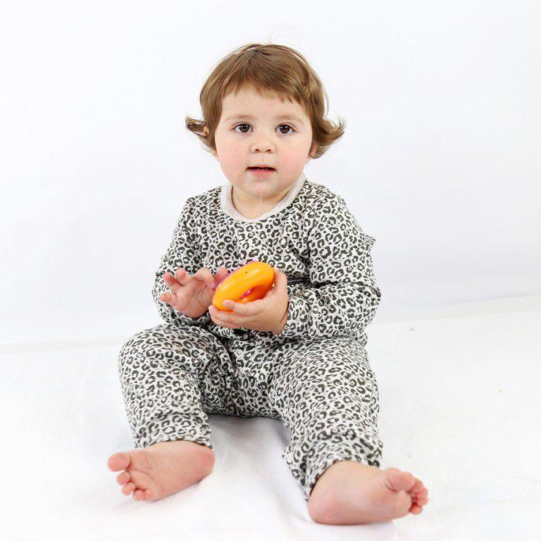 Macacão Longo Infantil Oncinha
