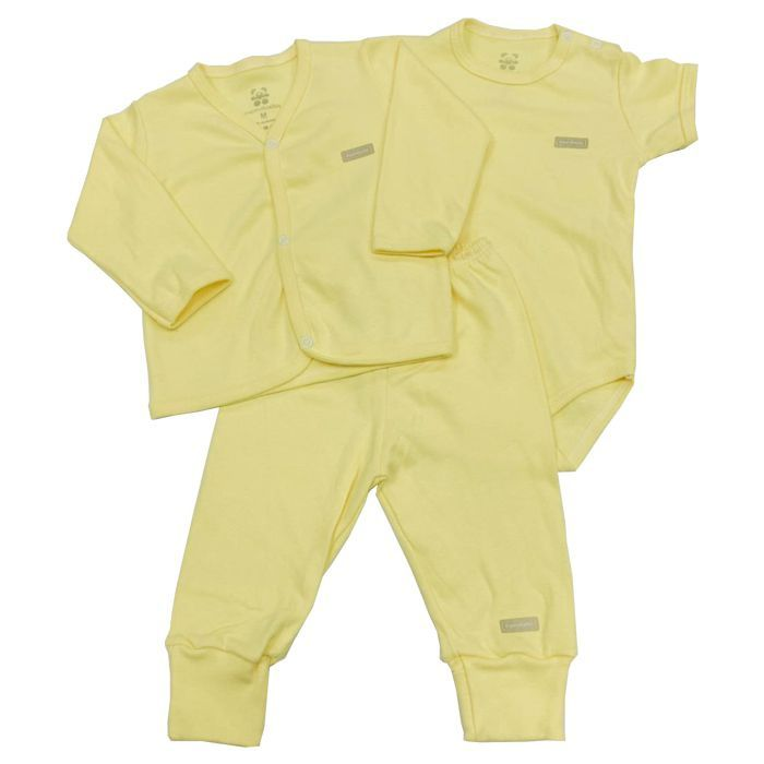 Pagão 3 Peças Amarela Neutro