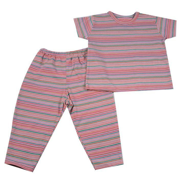 Pijama Longo Bebê Rosa
