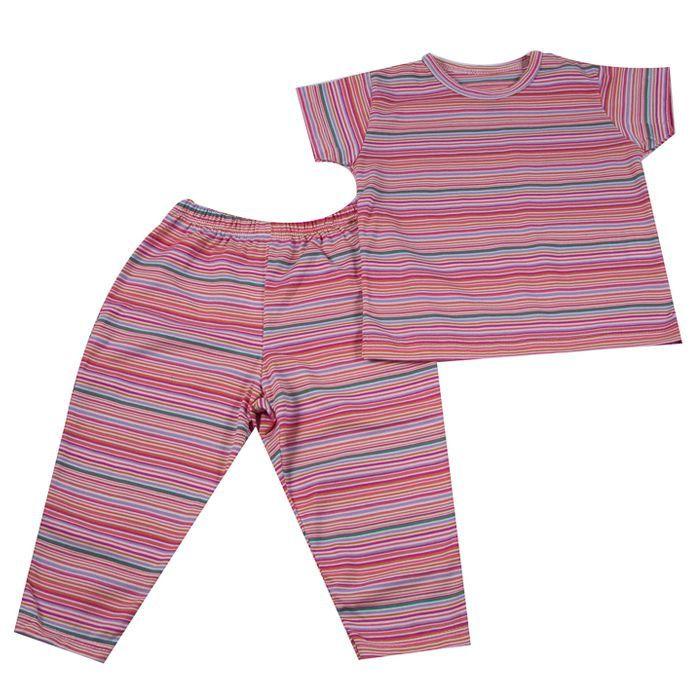 Pijama Longo Baby Rosa
