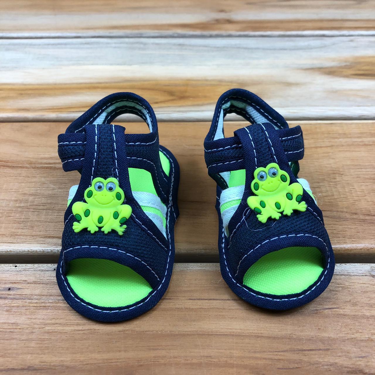 Sandália Bebê Verde