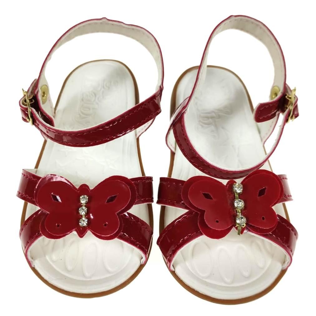 Sandália Infantil Vermelha