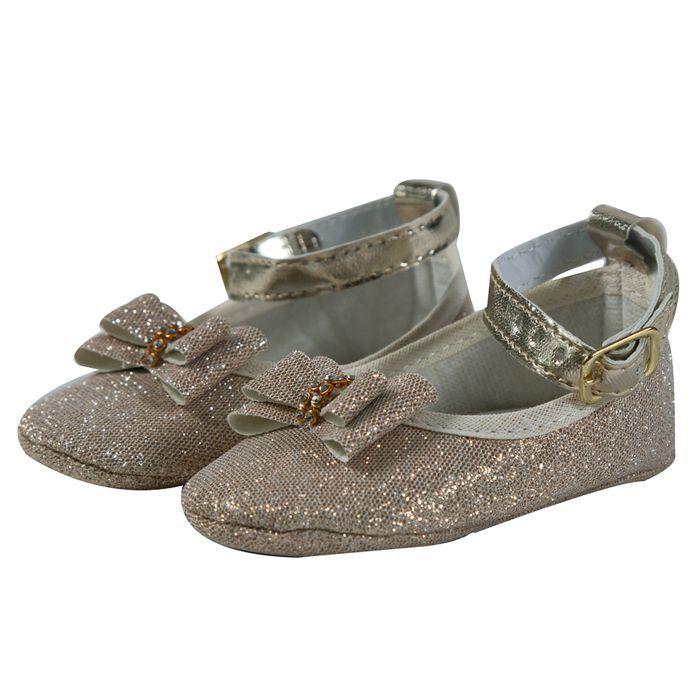 Sapato Baby Dourado