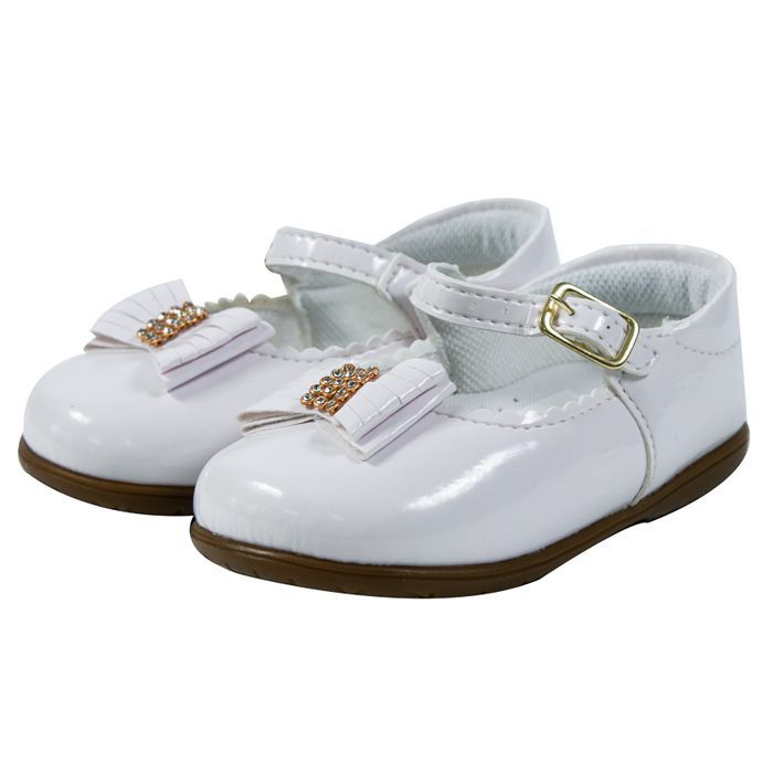 Sapato Infantil Branco #BOASFESTAS
