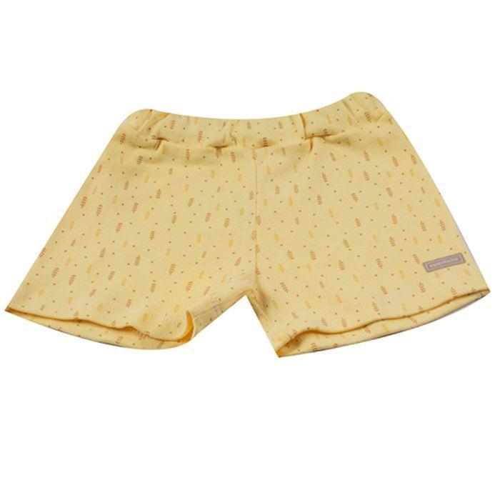 Shorts Bebê Amarelo