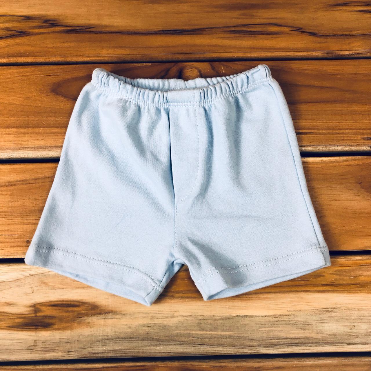 Shorts Bebê Azul