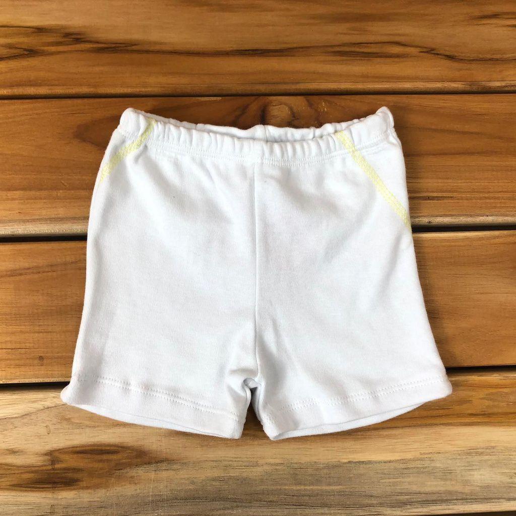 Shorts Bebê Branco