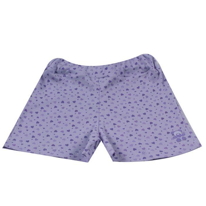 Shorts Bebê Lilás