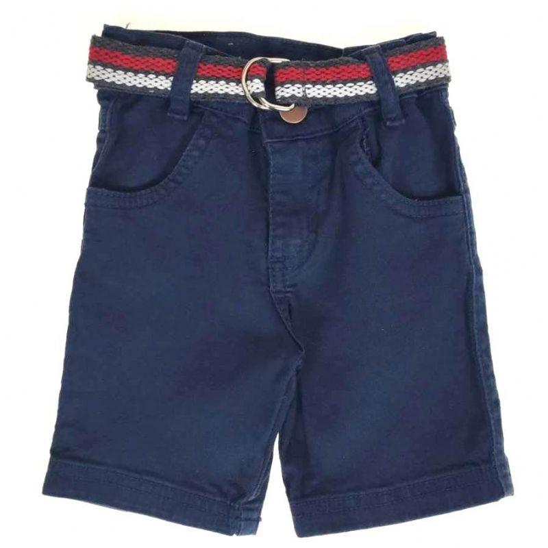 Shorts Jeans Azul com Cinto