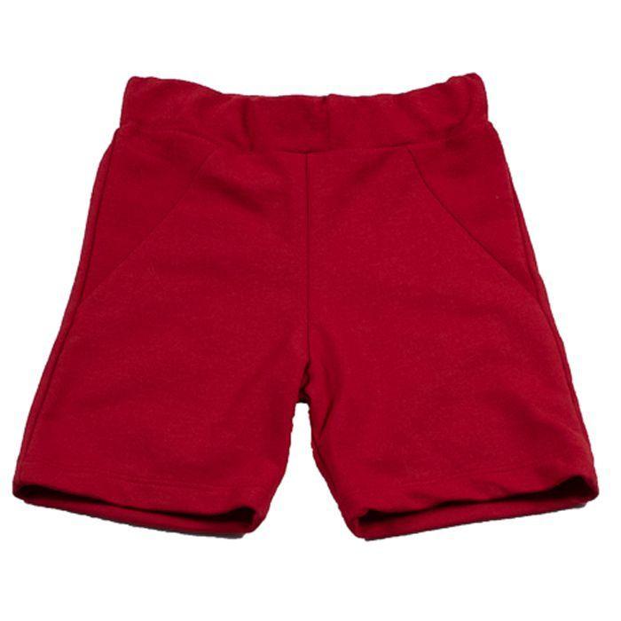 Shorts Infantil Vermelho