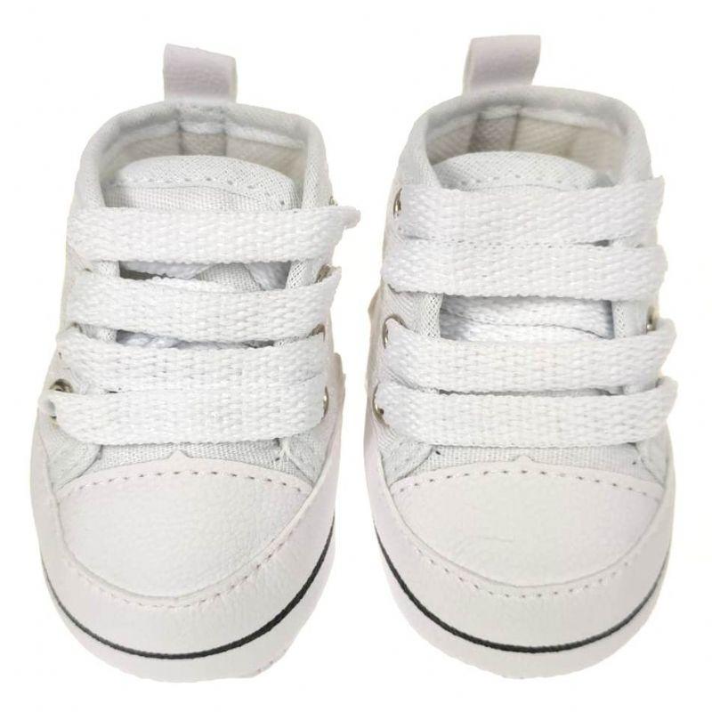 Tênis Bebê Branco All