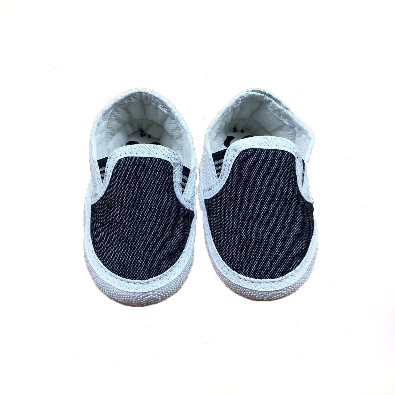 Tênis Bebê Sleep On Branco com Jeans
