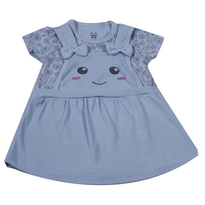 Vestido Bebê Azul  #PROMODODIA
