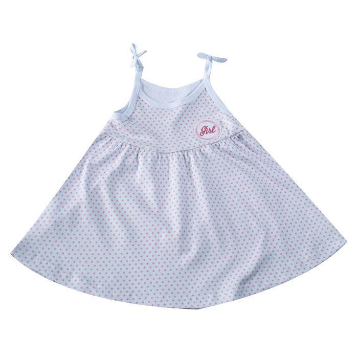 Vestido Bebê Branco