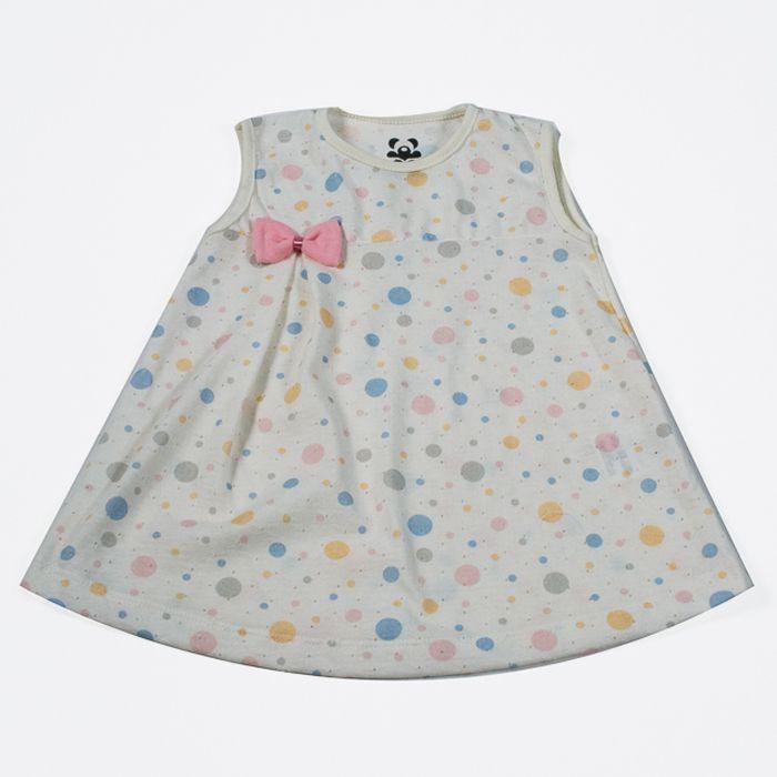Vestido Baby Creme