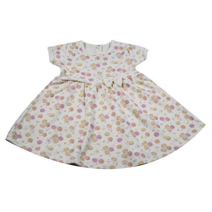 Vestido Bebê Cru