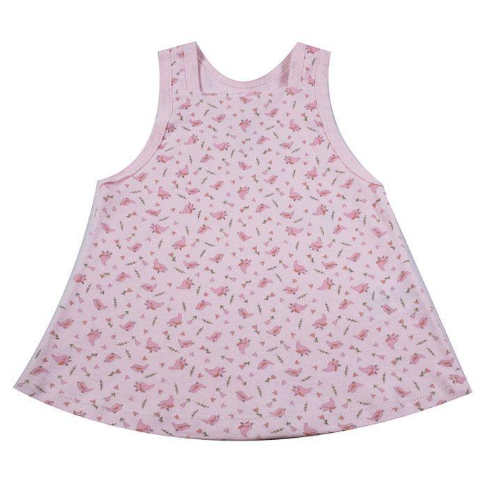 Vestido Bebê Rosa