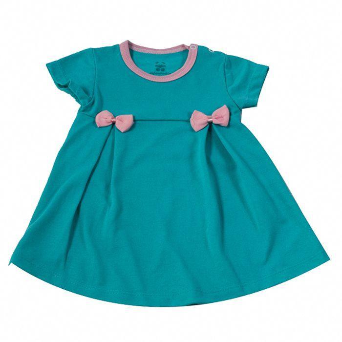 Vestido bebê Verde