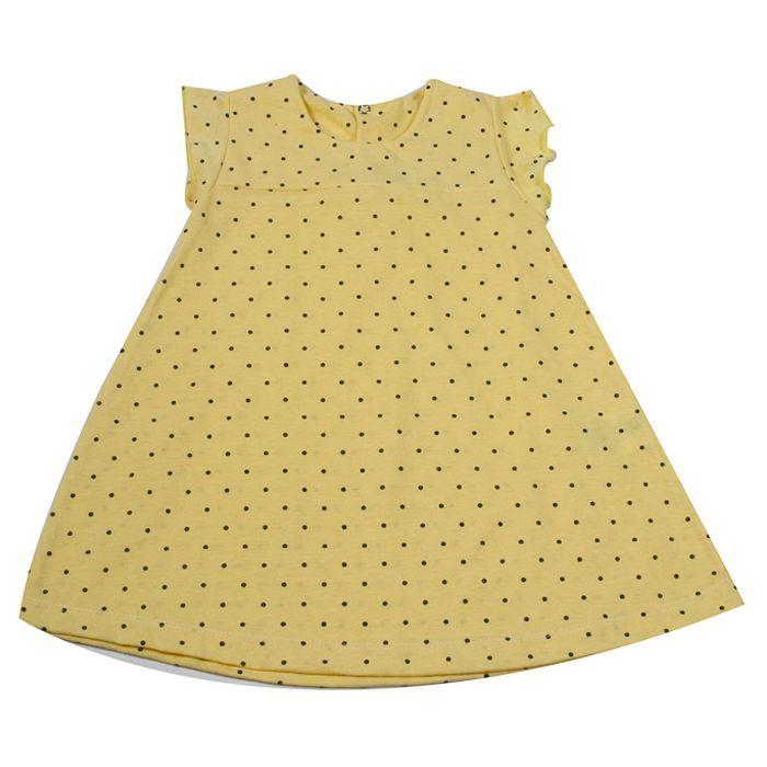 Vestido Kids Amarelo