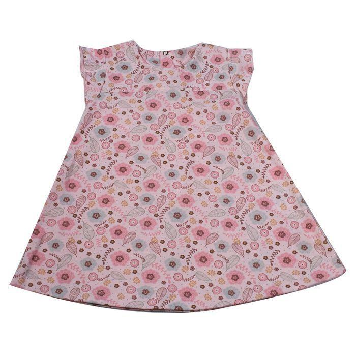 Vestido Infantill Rosa
