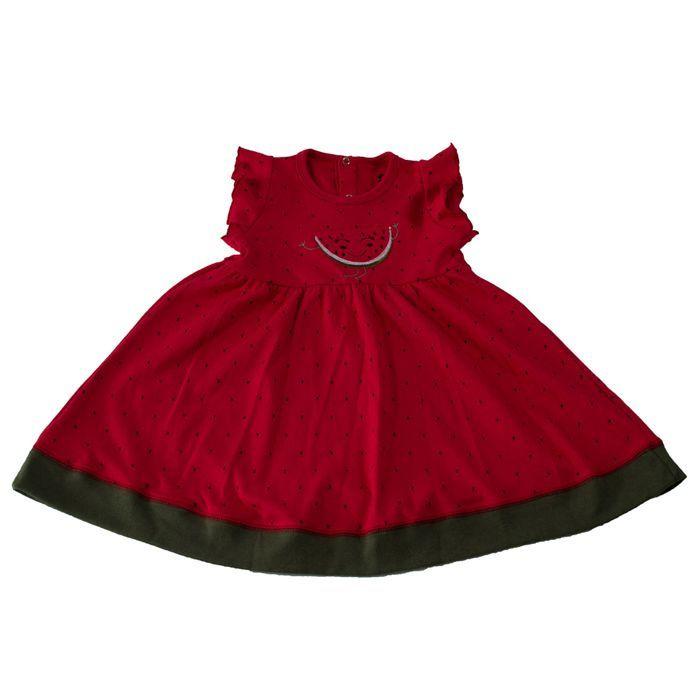 Vestido Infantill Temático Melancia