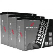 Kit 3 Thermo Abdomen Black - Body Action